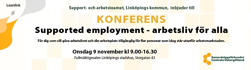 Supported Employment konferens